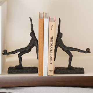 Soccer Kick Bookend